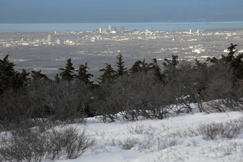 Anchorage just wrapped up its warmest calendar year since 1926.
