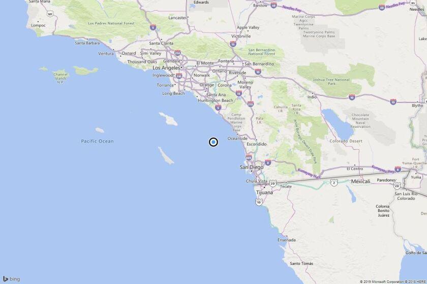 Earthquake: 3.0 quake strikes near Las Flores, Calif.