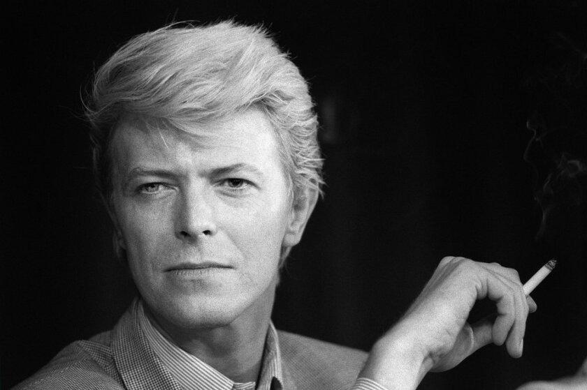 David Bowie in 1983.
