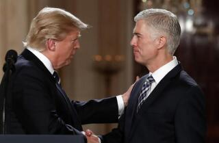Trump nominates Neil Gorsuch for Supreme Court