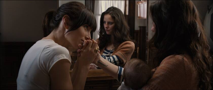 """Jessica Biel and Kaya Scodelario in """"The Truth About Emanuel."""""""