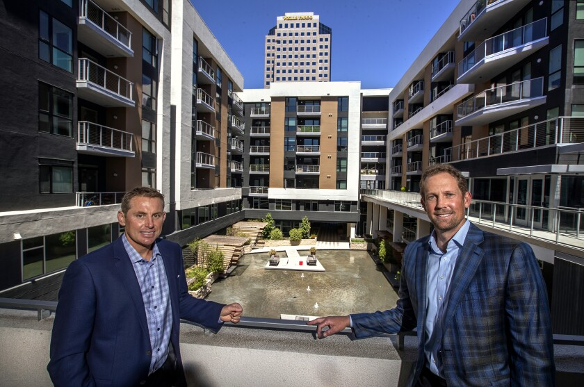 Waterford Property Co. co-founders Sean Rawson, left, and John Drachman
