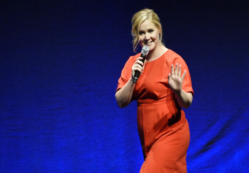 Amy Schumer and other female comics will be featured on SiriusXM's new channel She's So Funny.