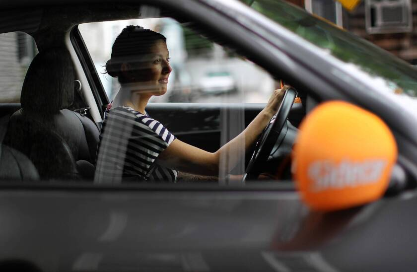 Will insurers get behind ride-sharing firms?