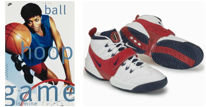 Sheryl Swoopes A Wnba Superstar On Her Big Nike Moment I Still Get A Little Choked Up Los Angeles Times