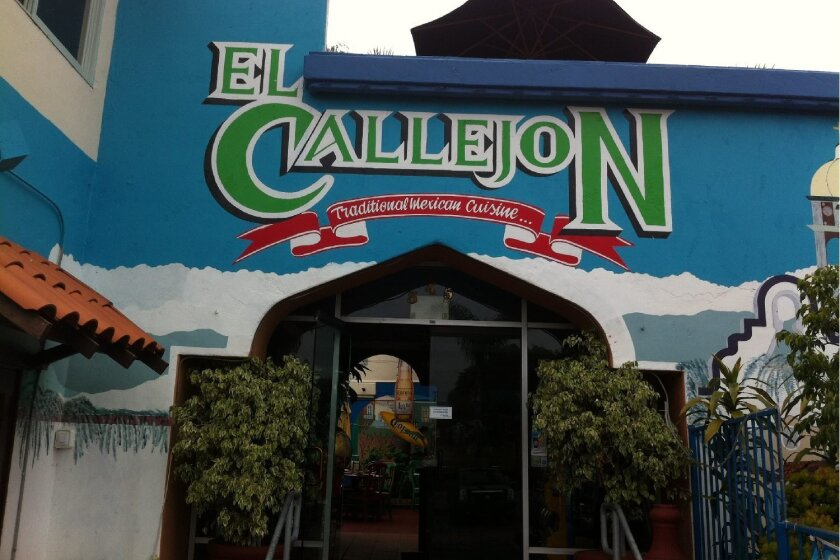 The El Callejon restaurant in Encinitas has been forced to close after 22 years.