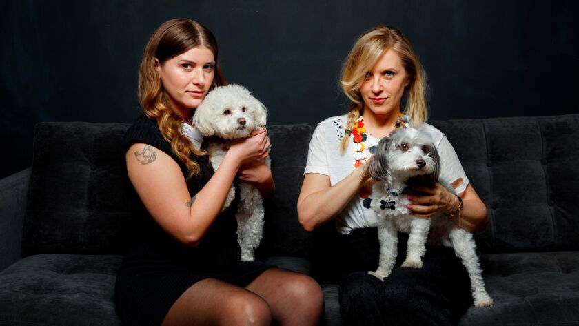 Bethany Cosentino and Liz Phair