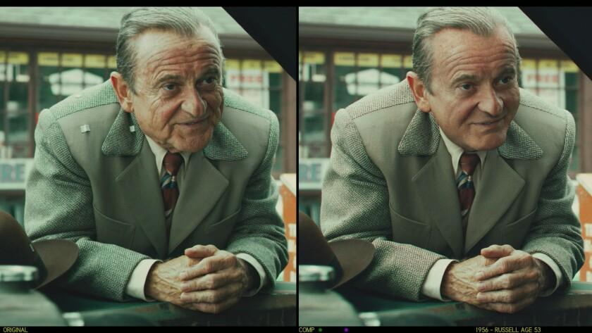 """Russel Bufalino (Joe Pesci) in """"The Irishman."""""""