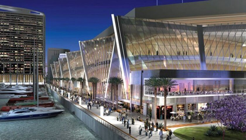 <strong>Artist rendering of convention center expansion.</strong> <em>(Tucker Sadler Architect)</em>