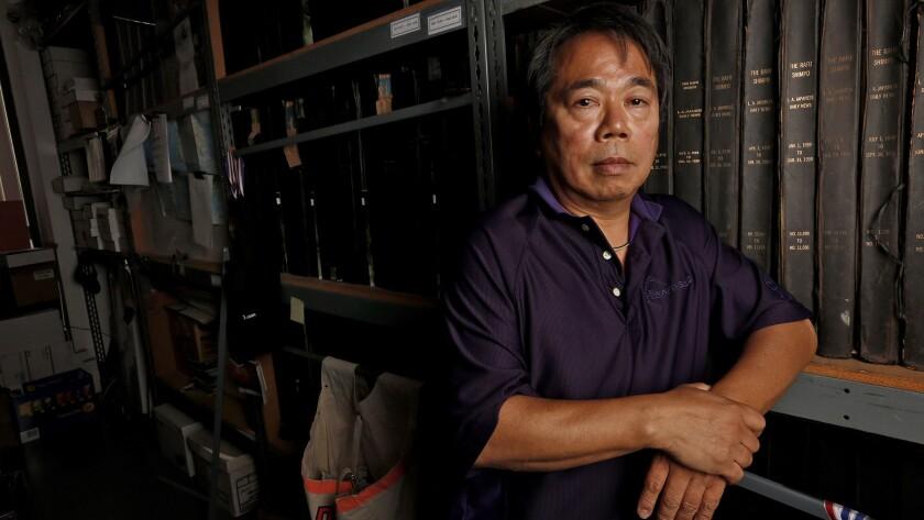 Michael Komai, publisher of Rafu Shimpo.