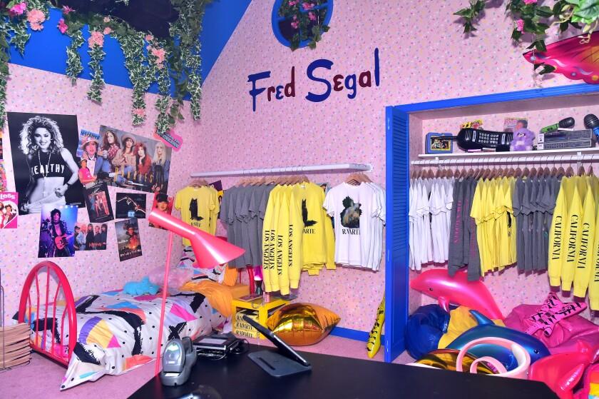 A Fred Segal popup at Milk Studios