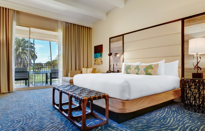 Mission Bay Resort guestroom