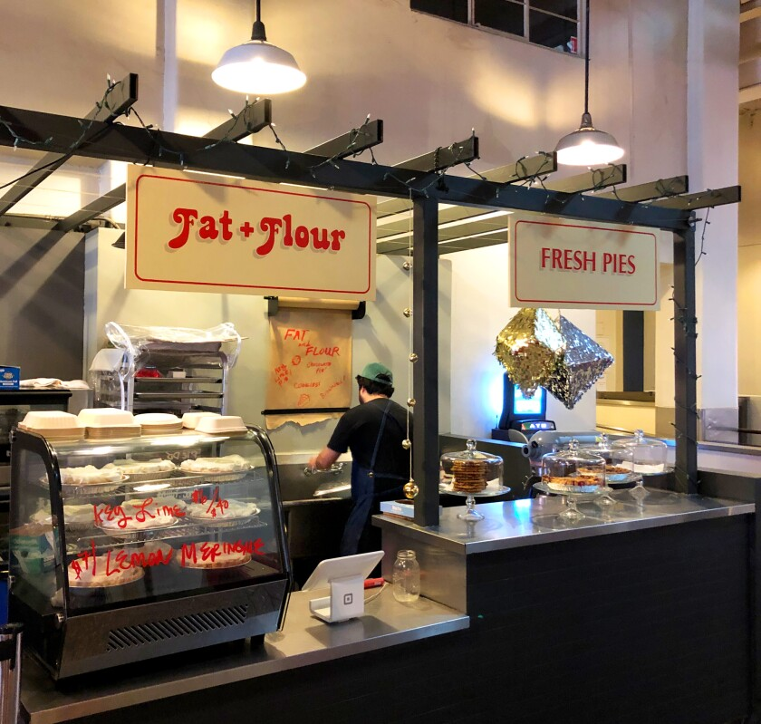 Fat + Flour pop-up at Grand Central Market