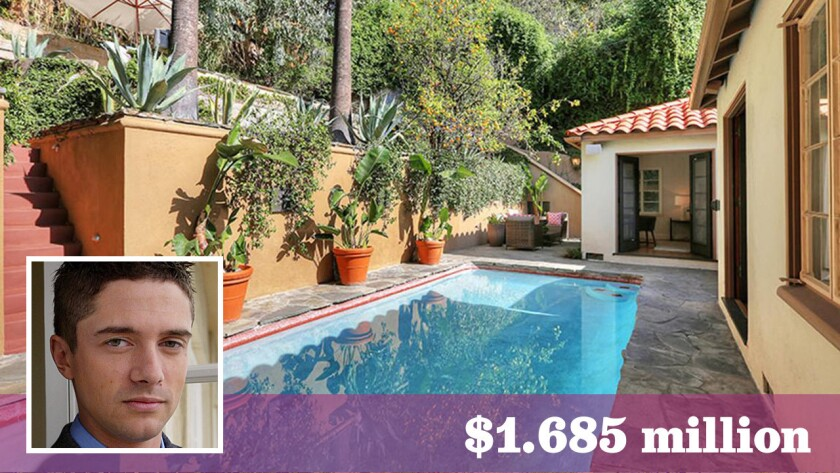 "The ""That '70s Show"" actor sold his Hollywood Hills home, which features a secret staircase entrance, for $1.685 million."