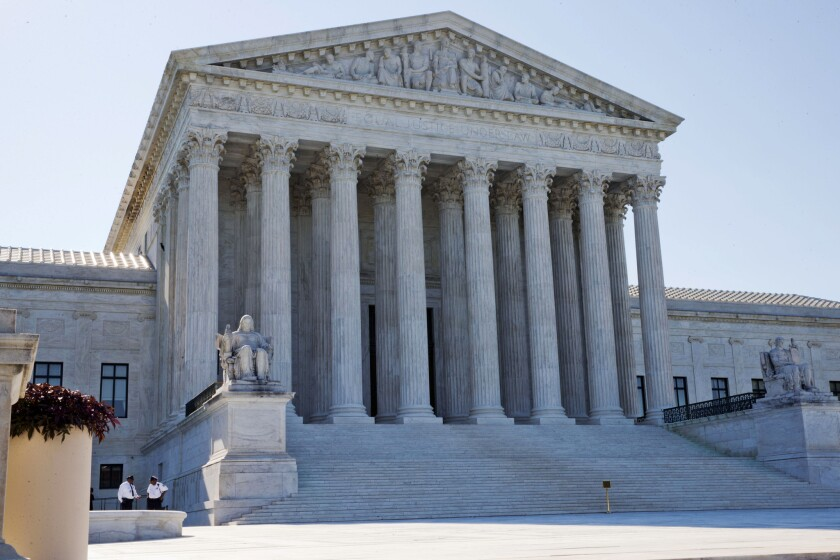 The U.S. Supreme Court in June of 2015.