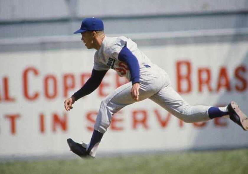 Maury Wills is the Dodgers' all-time stolen base leader.