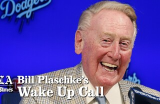 Bill Plaschke's Wake Up Call: Vin Scully