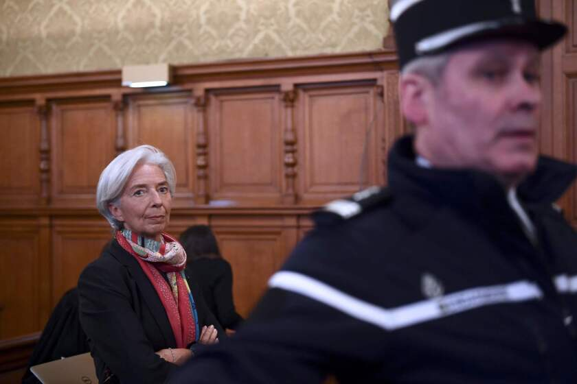 In a surprise verdict, IMF chief Christine Lagarde found guilty of