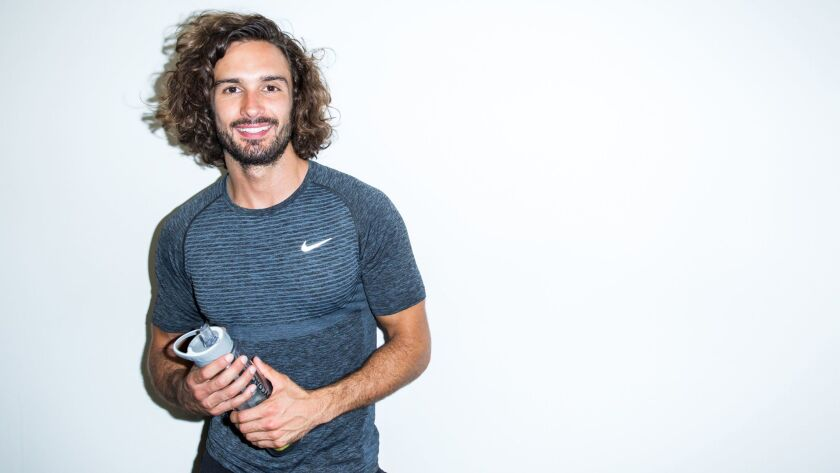 Fitness instructor Joe Wicks of Joe the Body Coach on Youtube. Credit: Conor McDonnell