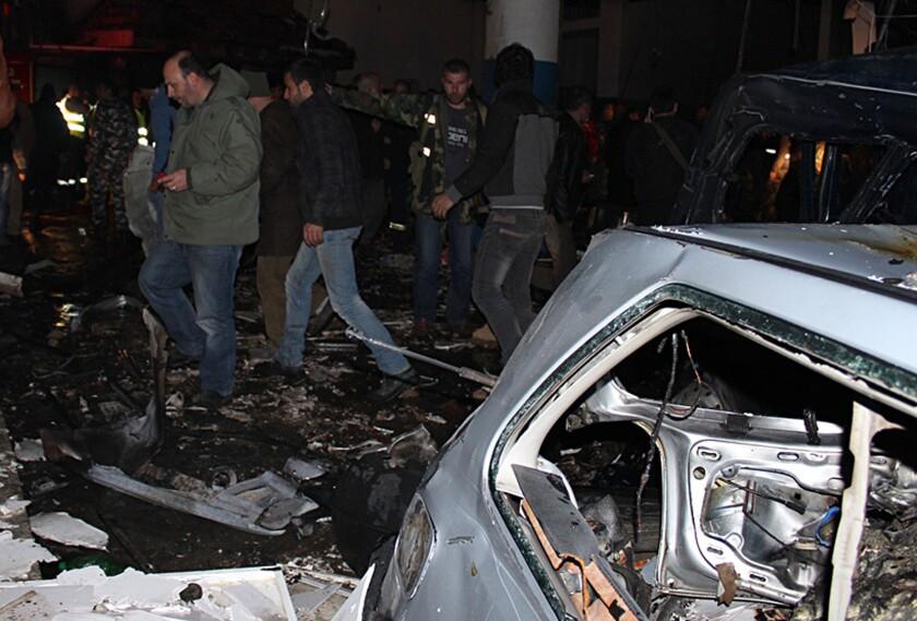 Lebanon car bombing