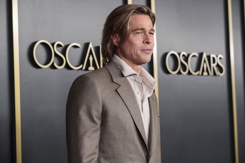 Oscar nominee Brad Pitt