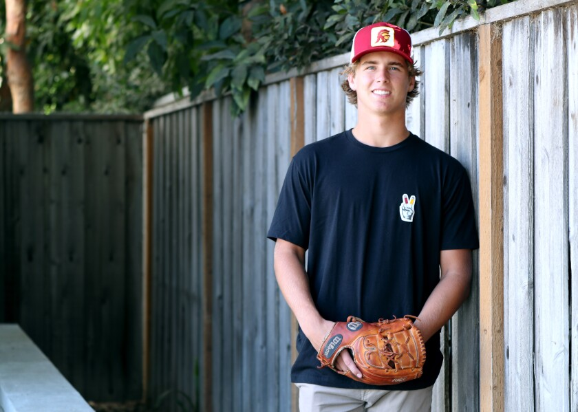 Newport Harbor High School senior  pitcher Will O'Neil has committed to attend USC.