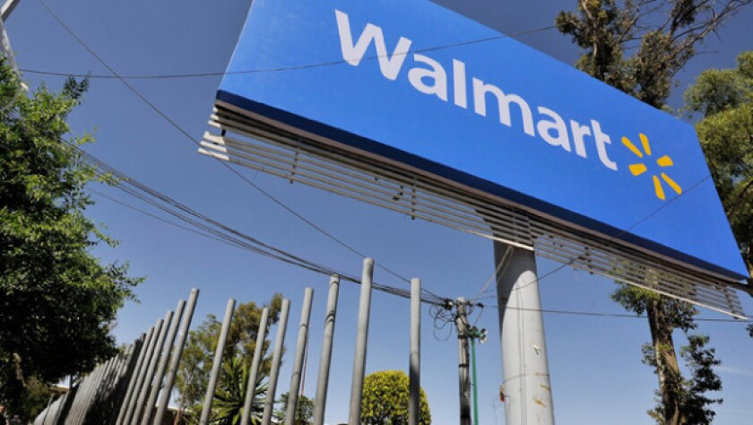 Wal-Mart reports disappointing first quarter earnings.