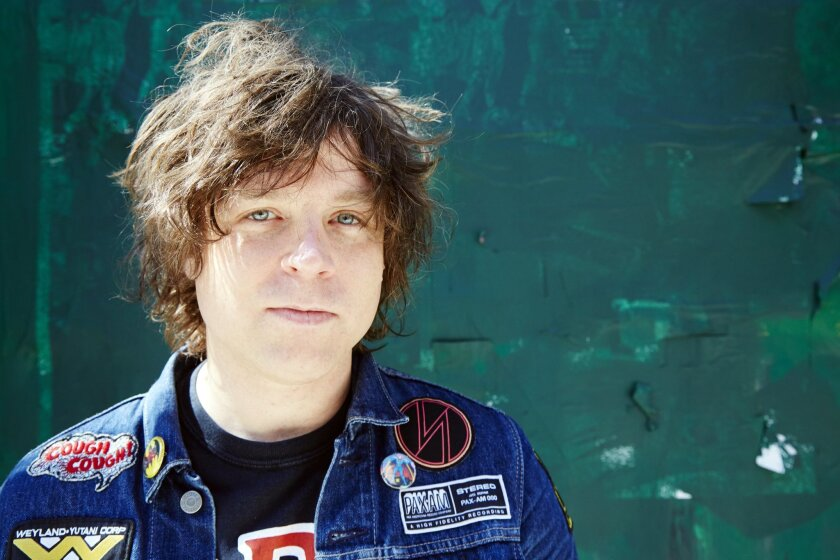 """In this Sept. 17, 2015 photo, singer Ryan Adams poses for a portrait in New York. Adams released an album covering Taylor Swift's entire """"1989"""" album. Swift released the original album last October. (Photo by Dan Hallman/Invision/AP)"""