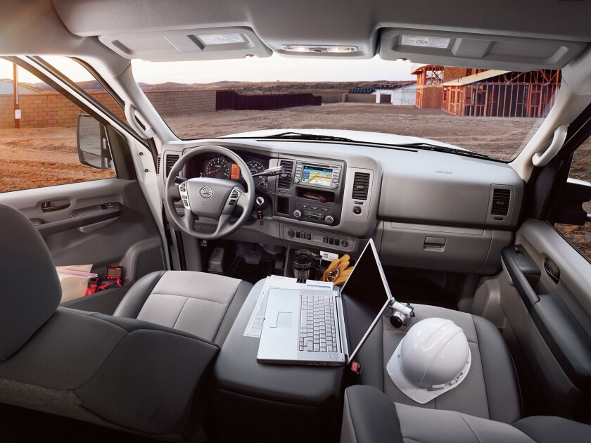 Nissan NV 3500 High Roof: The sky is the limit - The San