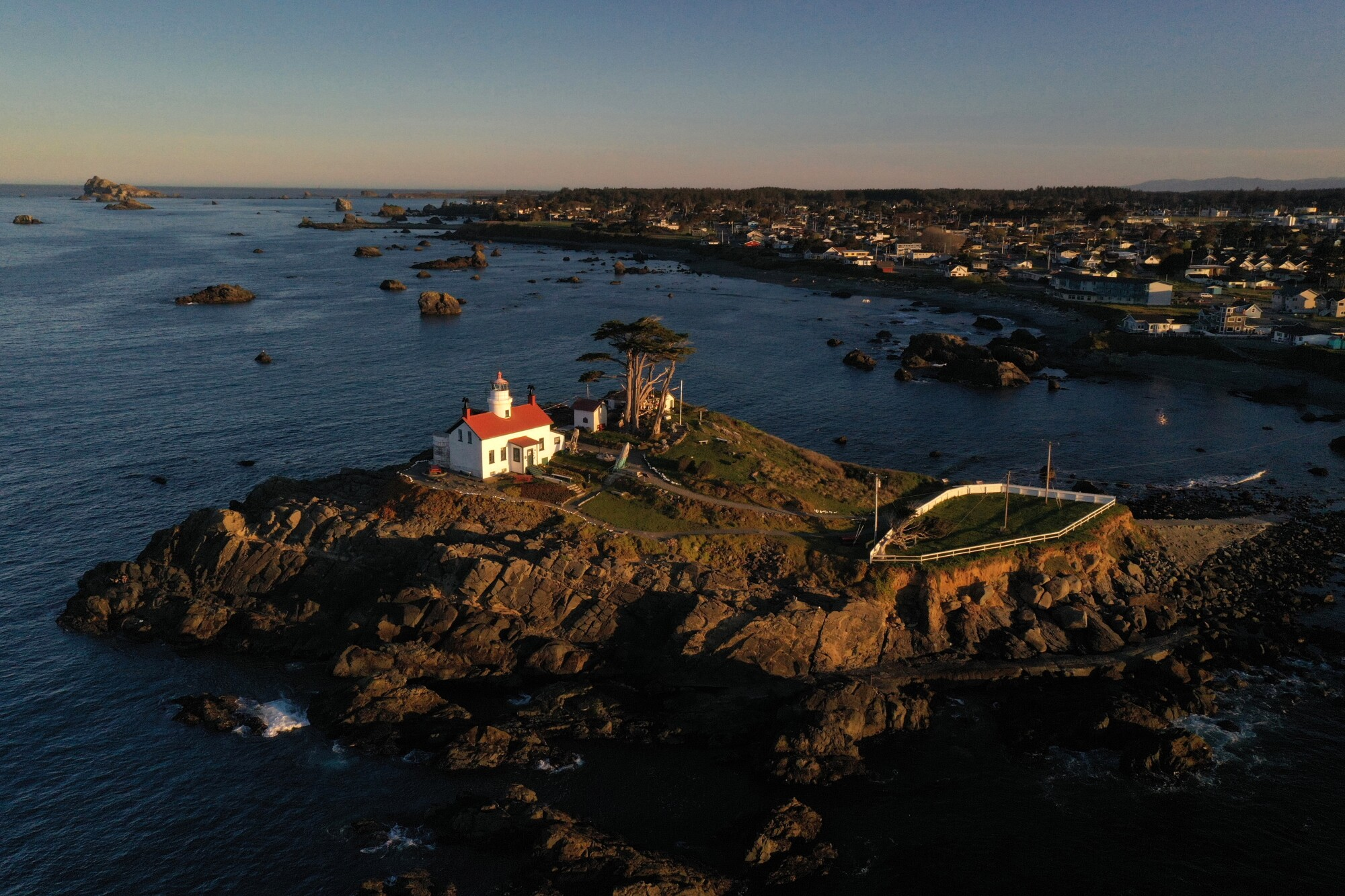 Battery Point Lighthouse in Crescent City