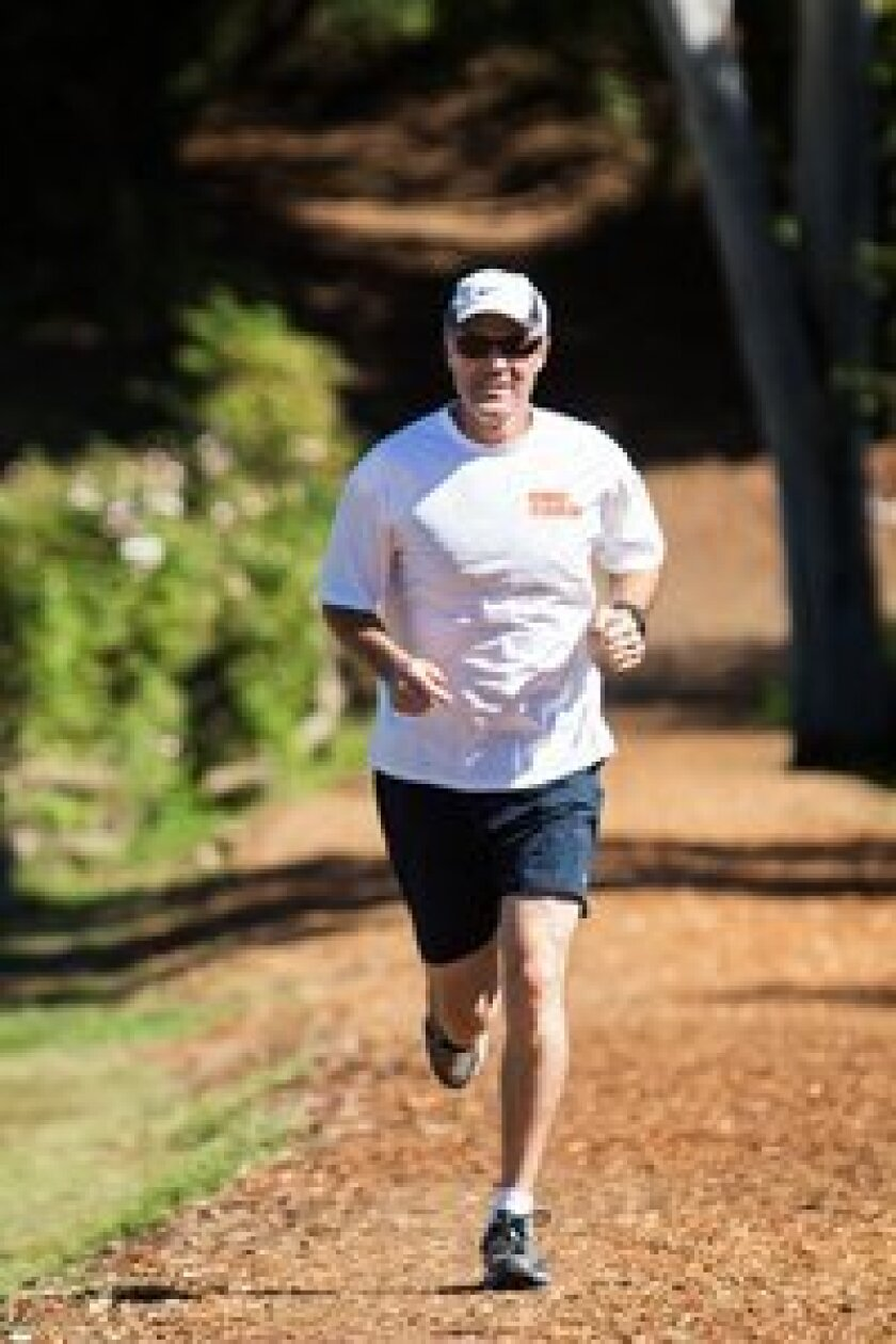 Local resident Tim Williams is training for a half marathon and trying to raise $25,000 for Omo Child along the way. Courtesy photo