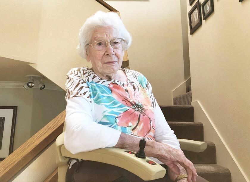 Alice Ray Johnson is turning 100 on Saturday.