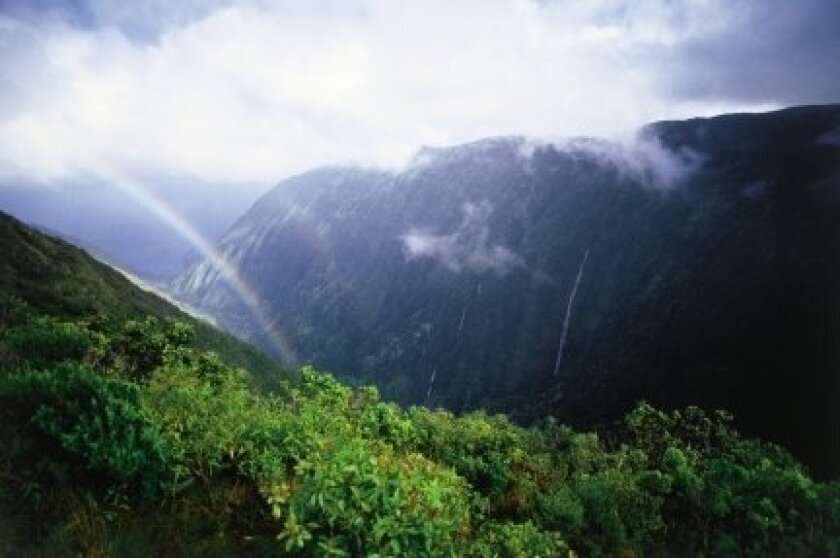 The island of Molokai. May marked the second consecutive month of record spending and visitor totals to Hawaii.