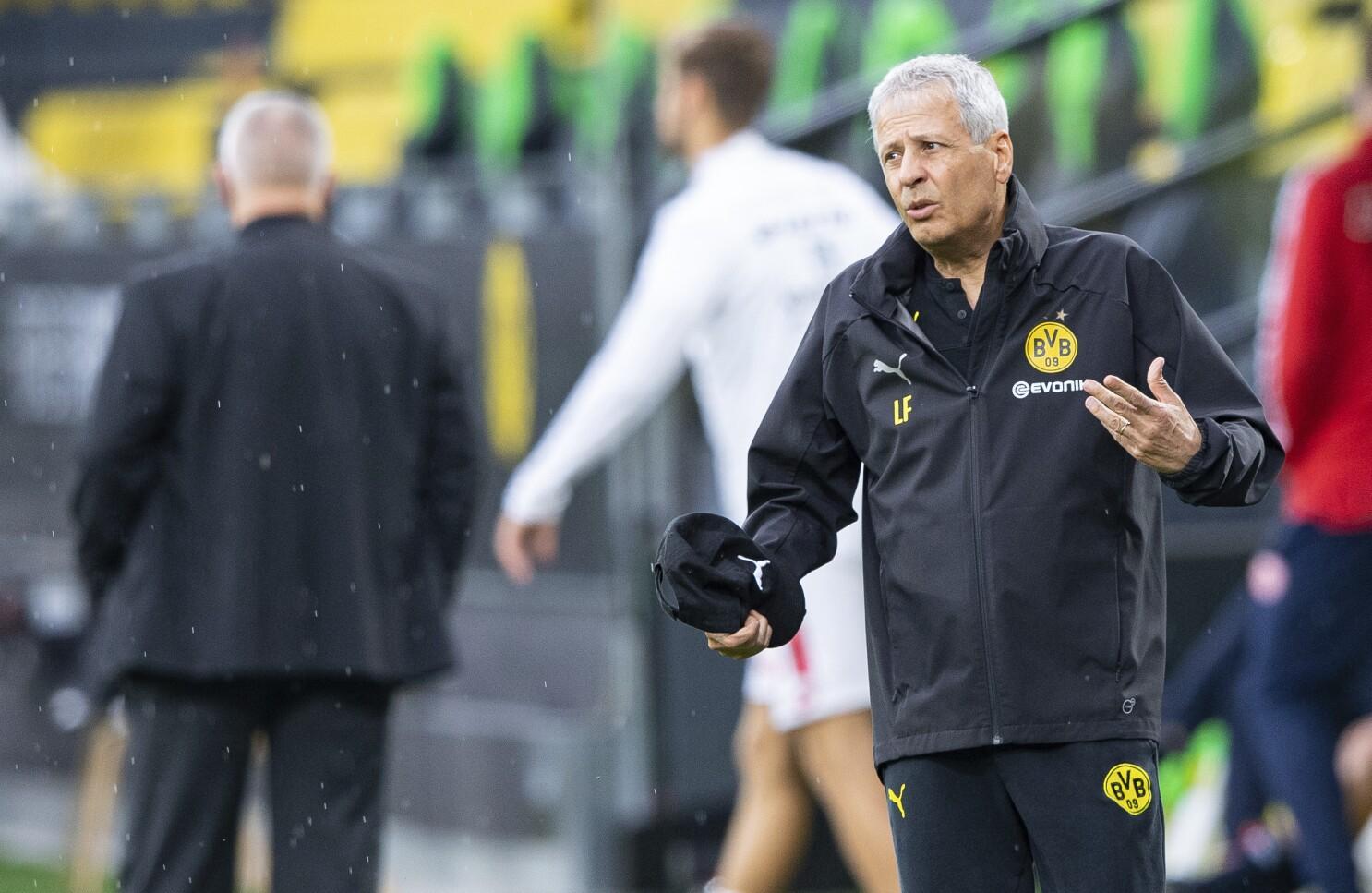 Dortmund Confirms Favre To Stay As Coach For Next Season The San Diego Union Tribune