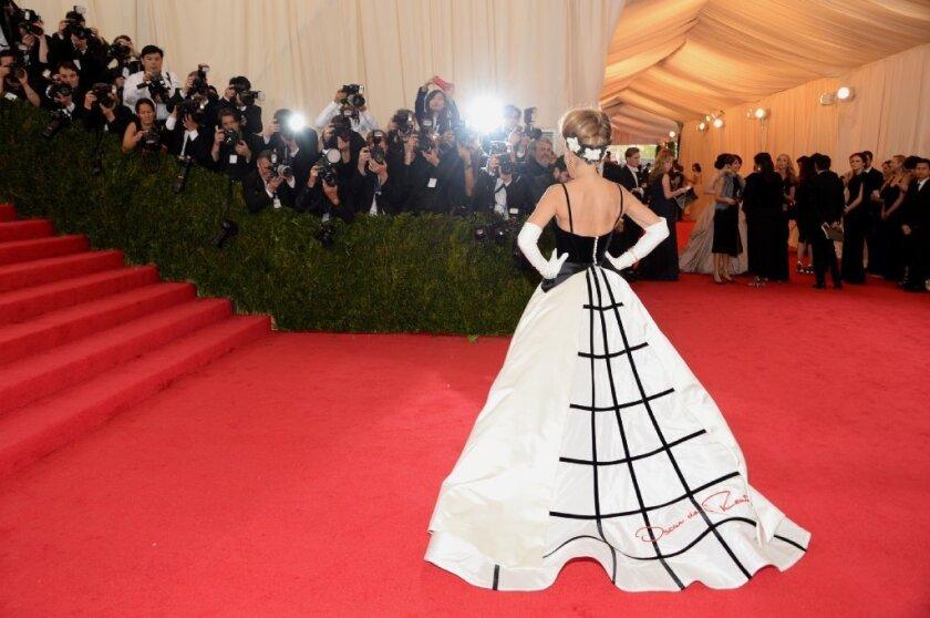 Sarah Jessica Parker attends The Metropolitan Museum of Art's Costume Institute benefit gala.