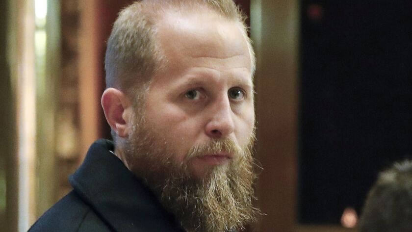 Brad Parscale, digital director of the 2016 Trump campaign, is the president's 2020 campaign manager.