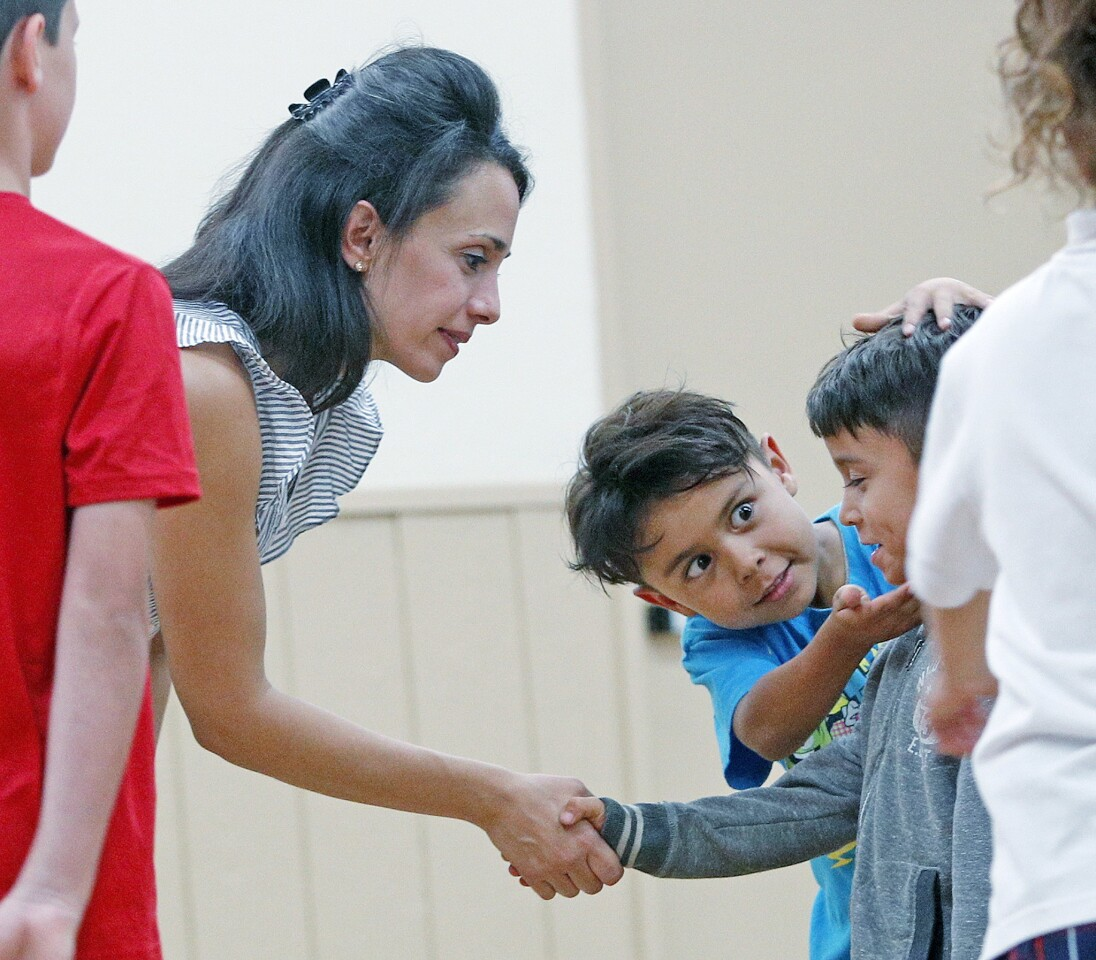 Photo Gallery: Manners class taught at Community Center of La Canada Flintridge