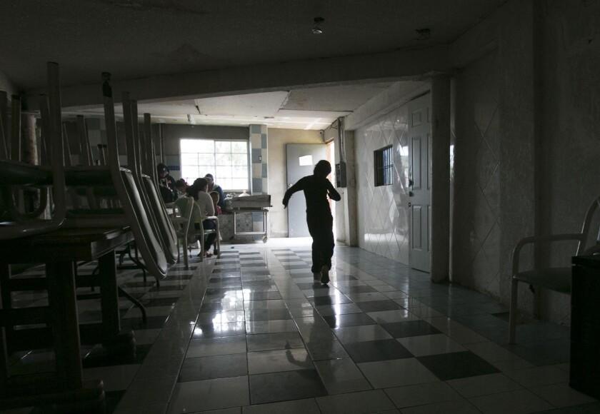 Unaccompanied minors in Tijuana