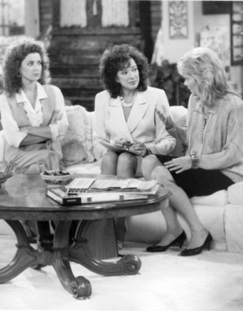 Annie Potts, left, Dixie Carter and Jean Smart, along with Delta Burke, were the original leads in the sitcom set in Atlanta.