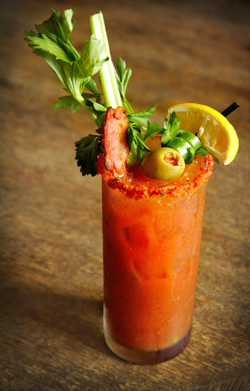 A bloody Mary from Red O.