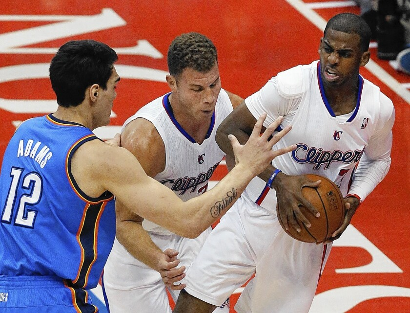 The Clippers were purchased in 1981 by current owner Donald Sterling for $12.5 million. Above, Clippers guard Chris Paul looks to pass the ball during the NBA Western Conference semifinals earlier this month.
