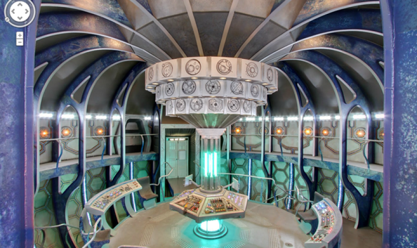 """TARDIS, the ship from """"Doctor Who,"""" is now viewable on Google Street View."""