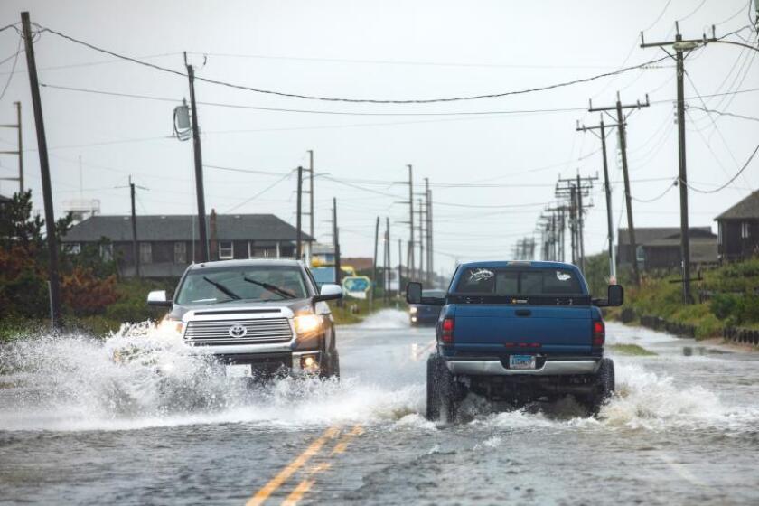 El huracán Dorian se fortalece de nuevo a categoría 2 en camino a Canadá