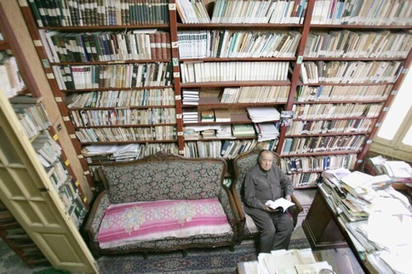 """Gamal Banna, 88, is an author and a target of criticism. """"Islam has to go through its own reformation,"""" he says."""