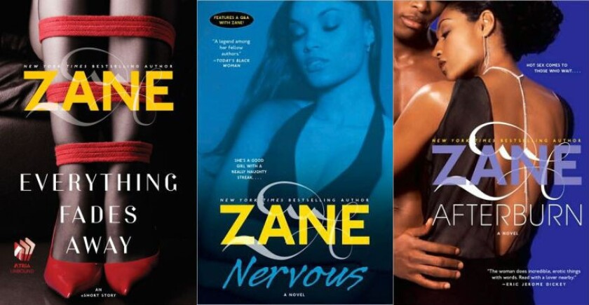 Bestselling author Zane is in the cross hairs of tax authorities.