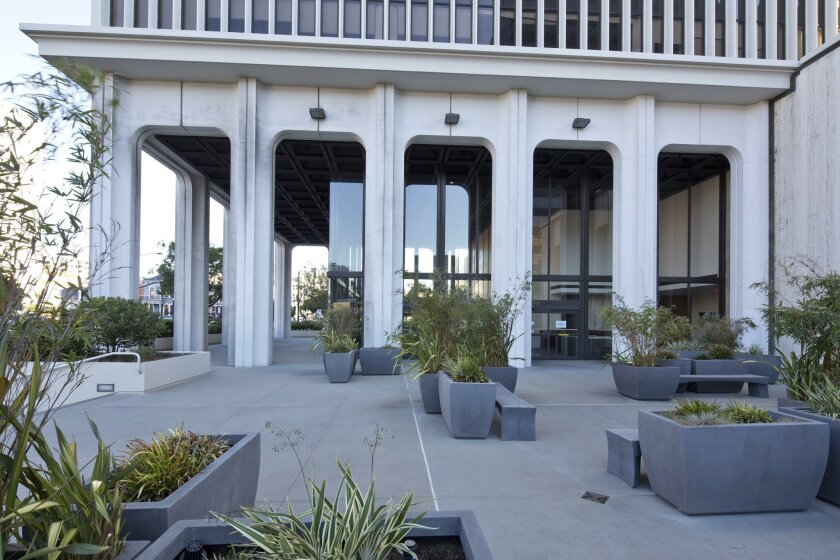 The ground floor entrance level at the former SDG&E building already includes a restaurant space that could be reopened as the project gets retooled.