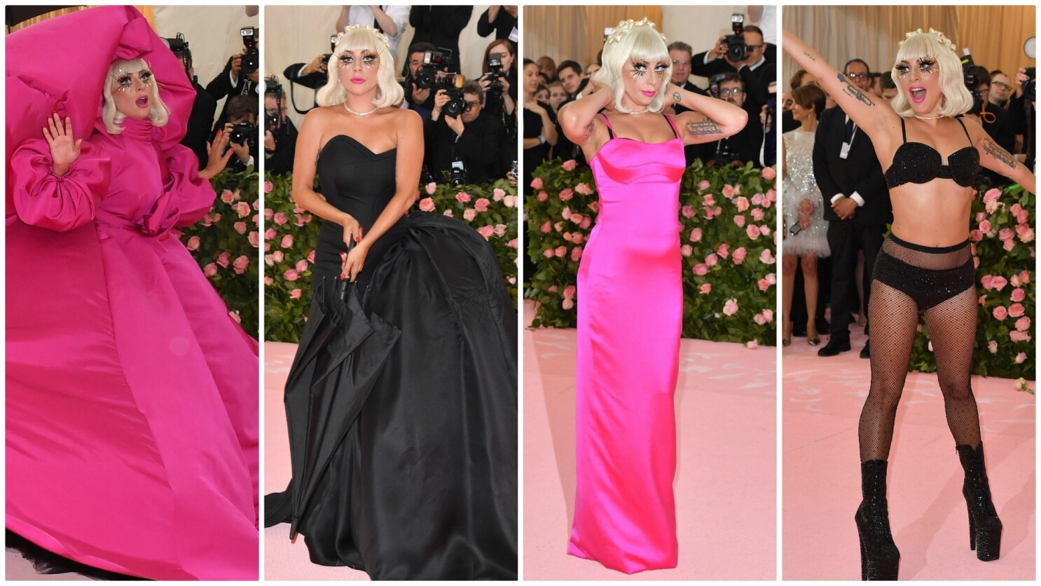 At The Met Gala Lady Gaga Again Gives A Master Class In How To Rule The Red Carpet Los Angeles Times