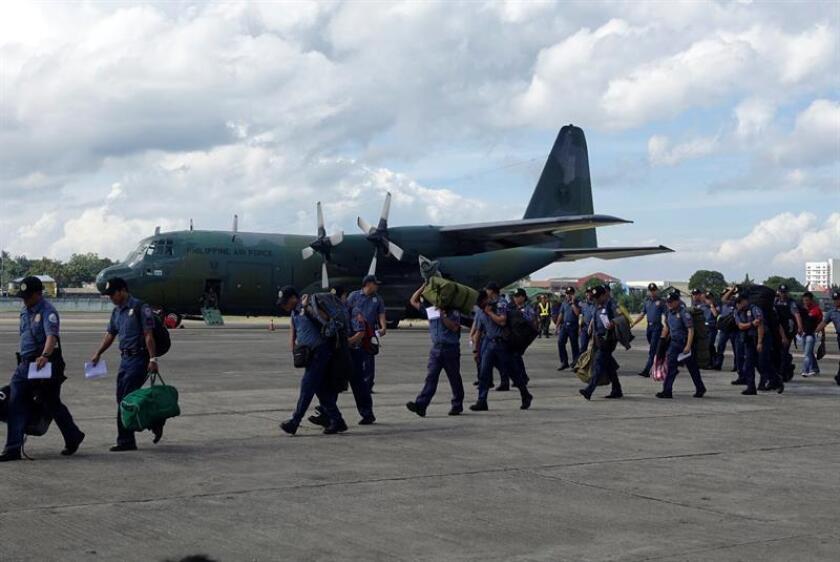 El Gobierno advierte de problemas de seguridad en el aeropuerto de Manila