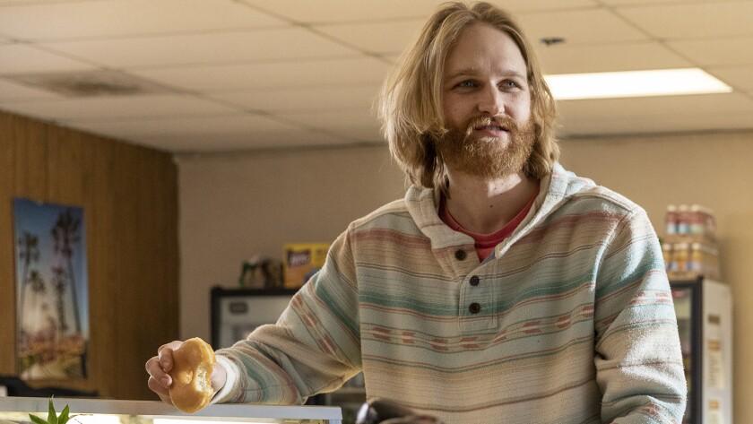 "Wyatt Russell in ""Lodge 49"" on AMC."