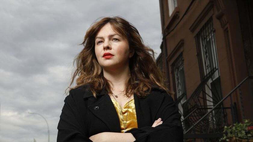 """BROOKLYN, NEW YORK--JUNE 6, 2018-- Actress Amber Tamblyn has written her first novel, """"Any Man,"""" whi"""